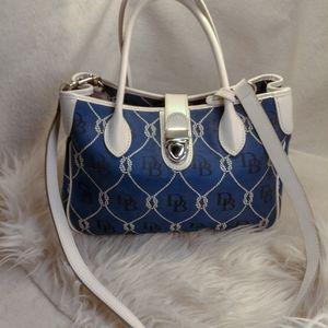 Authentic blue Dooney Bourke purse handbag